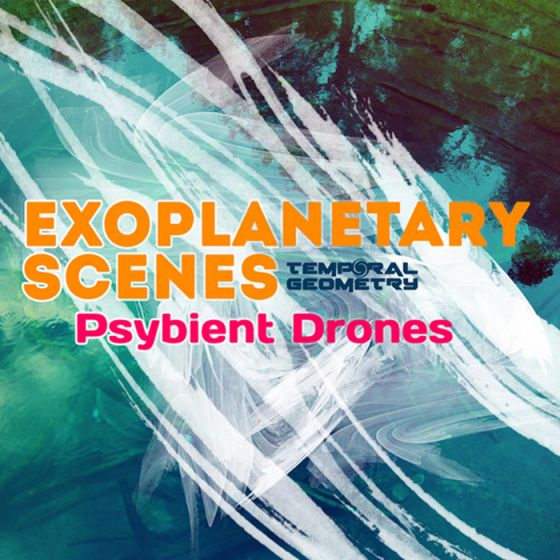 Temporal Geometry Exoplanetary Scenes Psybient Drones WAV-MAGNETRiXX
