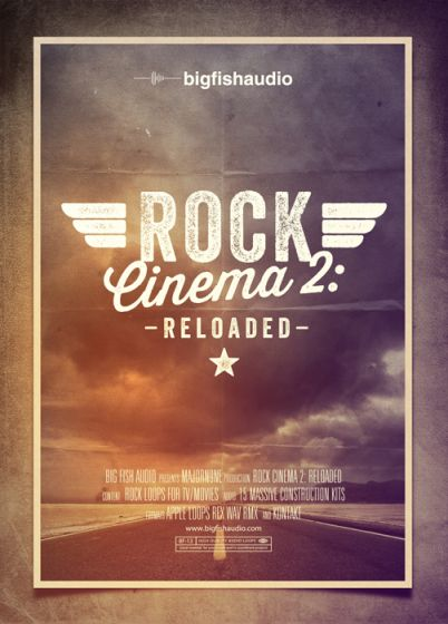Big Fish Audio Rock Cinema 2 Reloaded KONTAKT SCD DVDR-SONiTUS