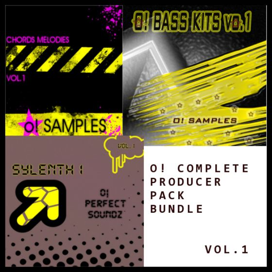O! Samples O! Complete Producer Pack Bundle Vol.1 WAV MiDi Sylenth1 Presets-MAGNETRiXX