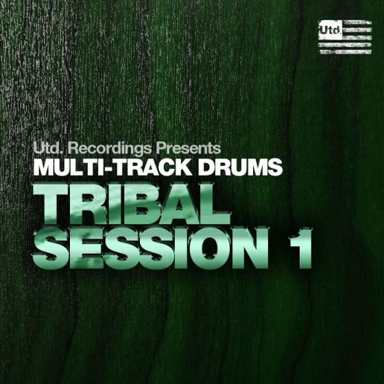 Utd Recordings Multi-track Drums Tribal Session 1 WAV AiFF Logic and Ableton Projects