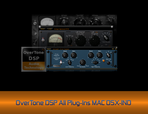 OverTone DSP All Plug-Ins MAC OSX-IND