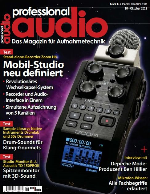Professional Audio Magazin Oktober No 10 2013