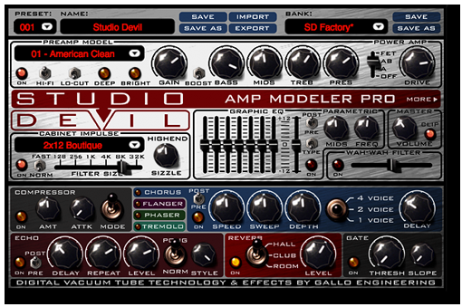 Studio Devil Virtual Guitar Amp II v2.3 Incl Keygen WiN/MAC-R2R
