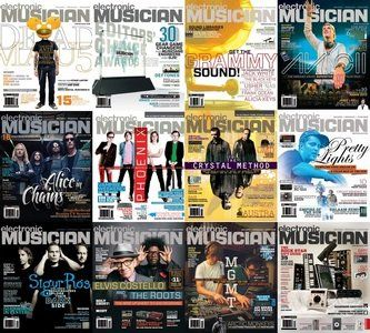Electronic Musician - Full Year Collection 2013