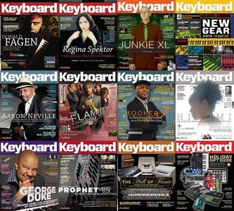 Keyboard Magazine - Full Year Collection 2013