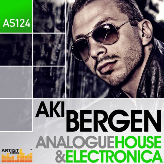 Loopmasters Aki Bergen Analogue House and Electronica MULTiFORMAT-MAGNETRiXX