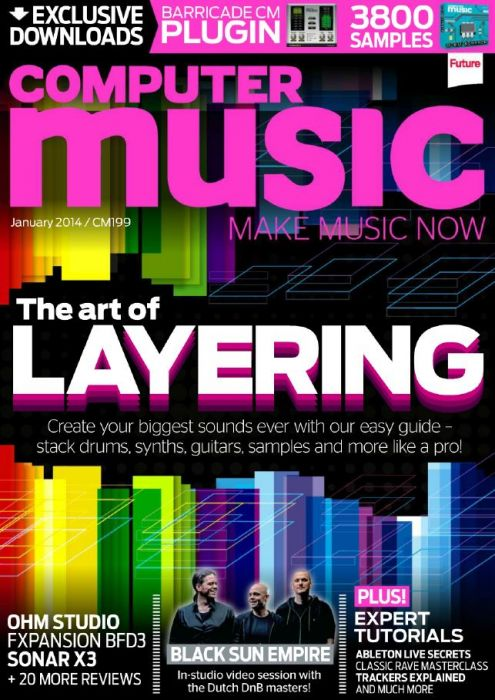 Computer Music January 2014 Issue 199 Content DVD