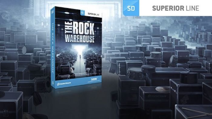 Toontrack The Rock Warehouse MIDI v1.2.0 (WiN and OSX)