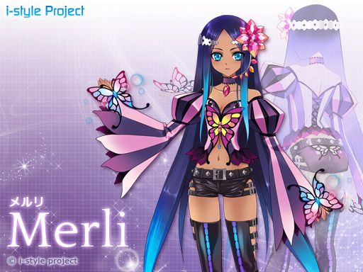 i-style/Bplats Merli for Vocaloid3FE/AE