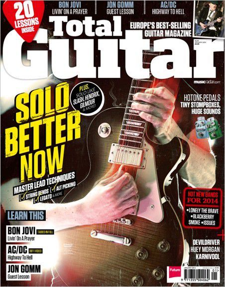 Total Guitar - January 2014 (True PDF)