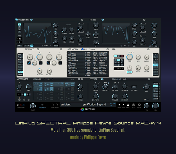 LinPlug SPECTRAL Philippe Favre Sounds