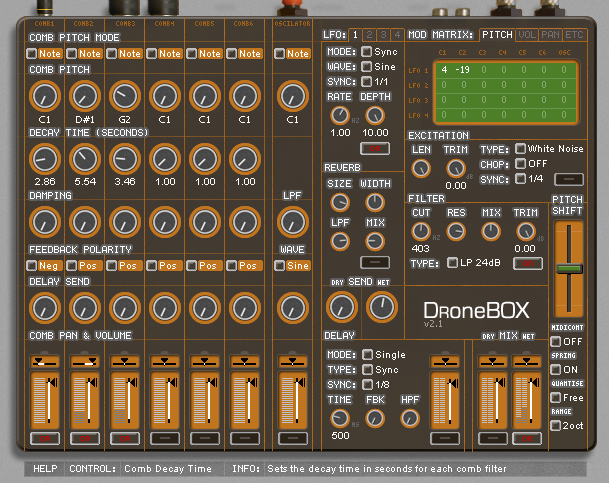 Oli Larkin Dronebox VST v2.3 x86