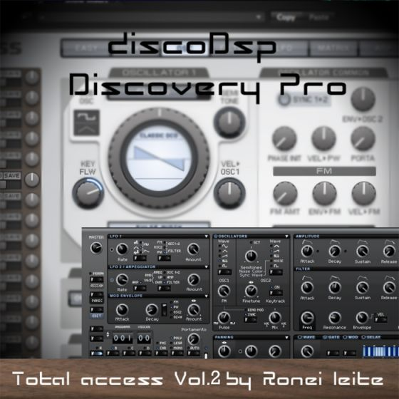 Ronei Music Total Access Vol.2 For Discovery discoDSP-MAGNETRiXX