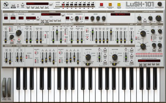 D16 Group LuSH-101 v1.1.3 Incl.Keygen WiN/MAC-R2R