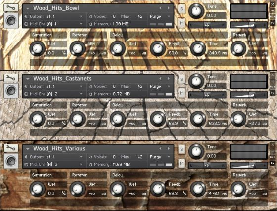 AudioThing Wood KONTAKT-MAGNETRiXX