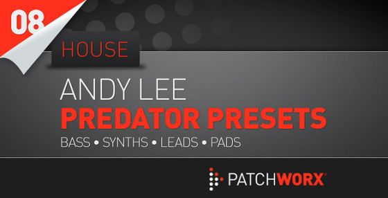 Loopmasters Andy Lee House Synth Presets For Predator-6581