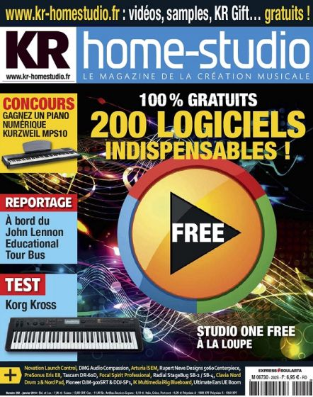 Keyboard Recording Home Studio No.292 - Janvier 2014