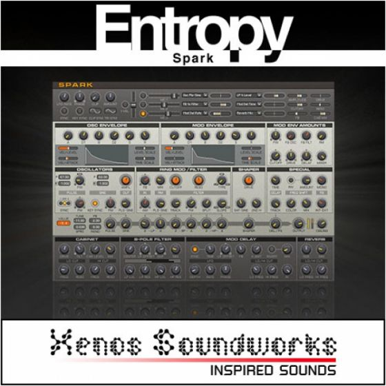 Xenos Soundworks Entropy for NI Reaktor Spark