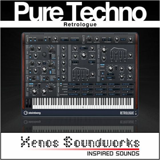 Xenos Soundworks Pure Techno for Steinberg Retrologue MERRY XMAS-6581
