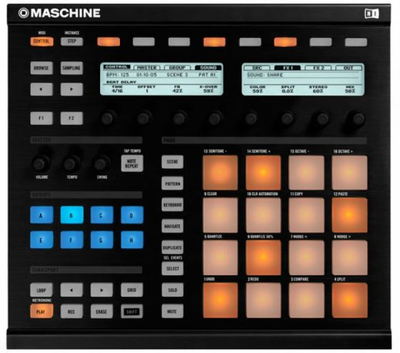 Maschine MK2 Studio One.ncm2 Template