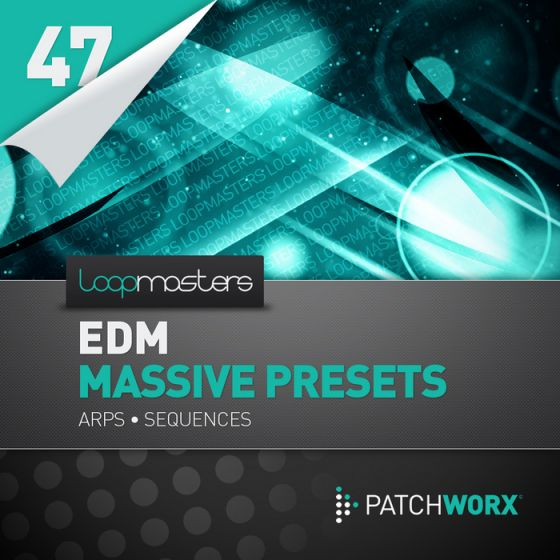 Loopmasters EDM Massive Presets Arps and Sequences WAV Ni Massive-MAGNETRiXX