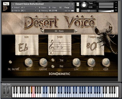 Sonokinetic Desert Voice Refurbished KONTAKT