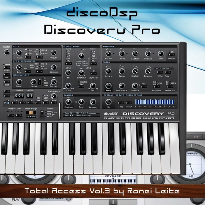 Ronei Music Total Access Vol 3 For Discovery Pro FXB-MAGNETRiXX