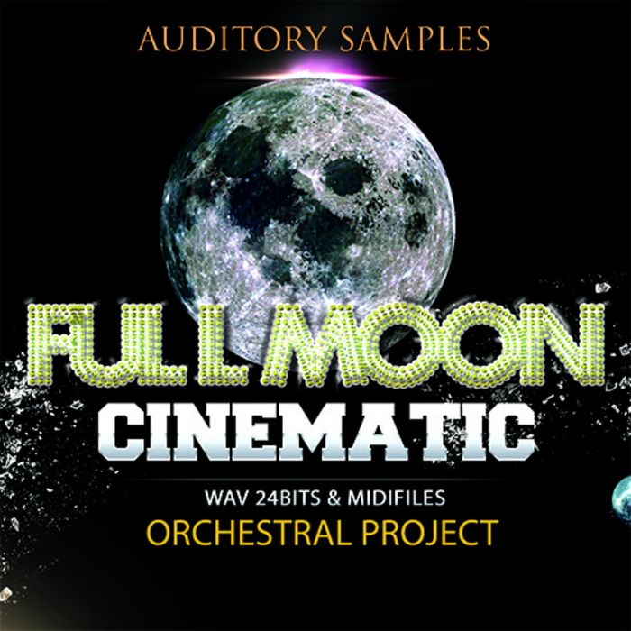 Auditory Cinematic Full Moon WAV MiDi-MAGNETRiXX