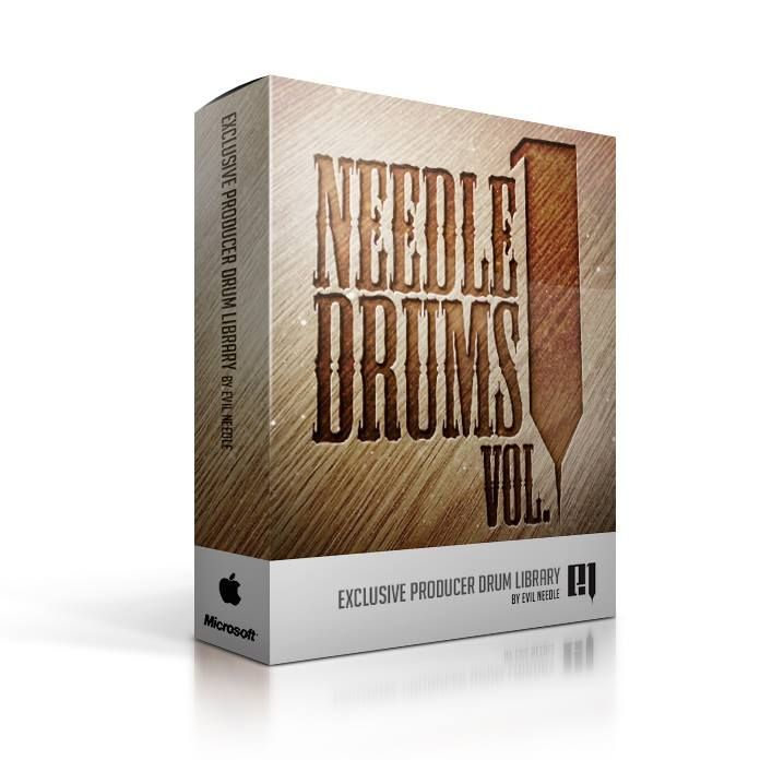 Evil Needle Drum Kit Vol. 1 WAV