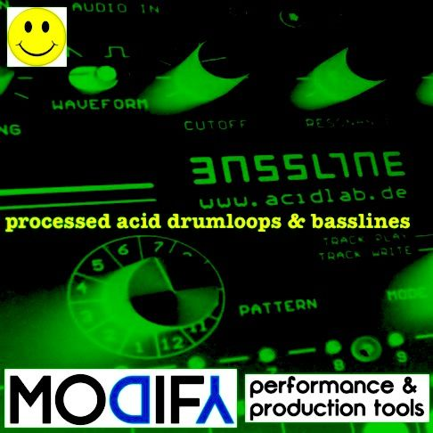 Modify processed acid bass and drums WAV-MAGNETRiXX