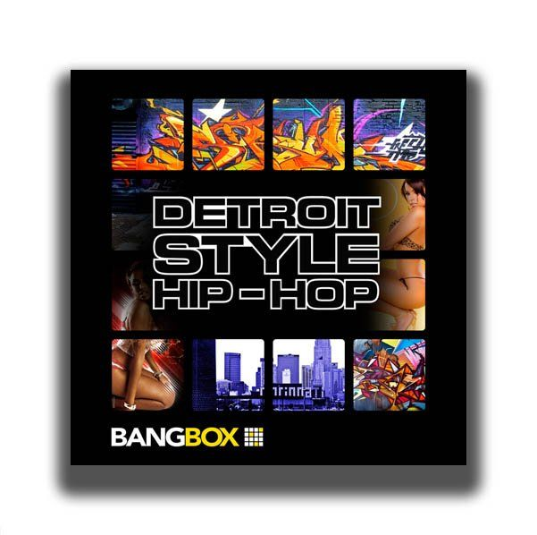 Bangbox Detroit Style Hip Hop Ableton Live and Kong Versions
