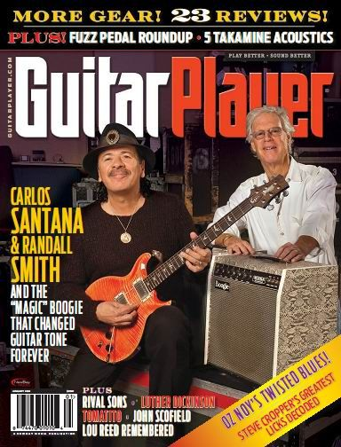 Guitar Player Magazine January 2014