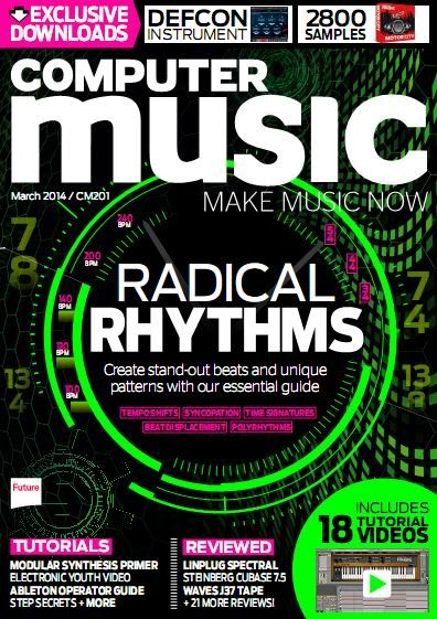 Computer Music Issue 201 March 2014 Content DVD
