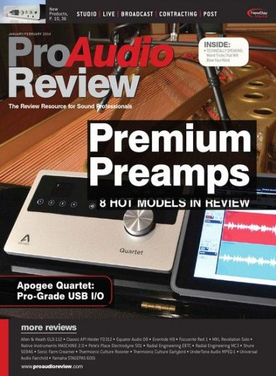 ProAudio Review - January-February 2014