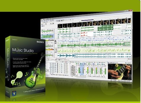 Sony Acid Music Studio v10.0 [Build 99] Cracked-Tracer