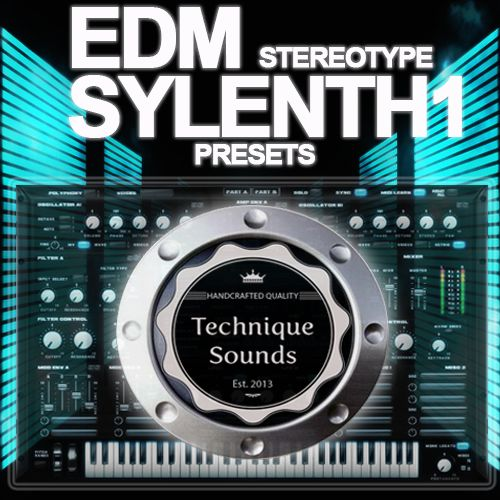 Technique Sounds EDM Stereotype Sylenth1 Presets-MAGNETRiXX