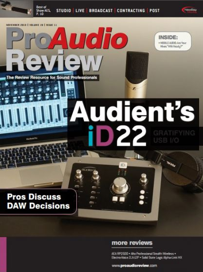 ProAudio Review - November 2013