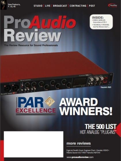 ProAudio Review - December 2013