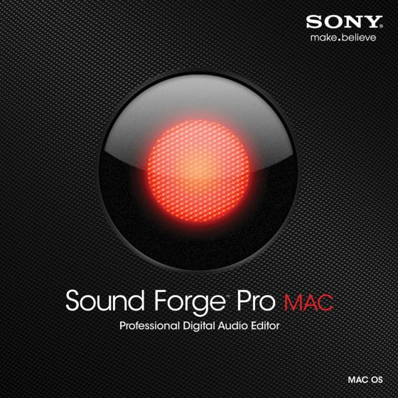 Sony Sound Forge Pro Mac v1.0.26 Build 1 MAC OSX- FFF