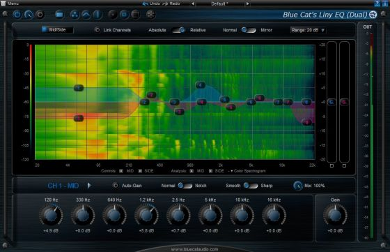 Blue Cat Audio Liny EQ v5.02 Ked MAC OSX-Kleen