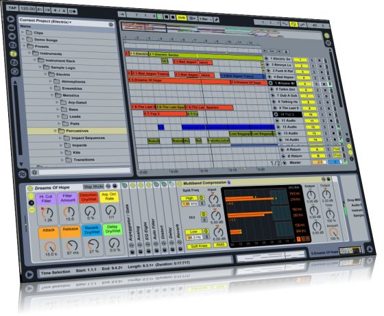 Sample Logic Tronix v9.0 For ABLETON LIVE ALP