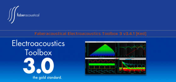 Faberacoustical Electroacoustics Toolbox 3 v3.4.1 [Ked] MAC OSX