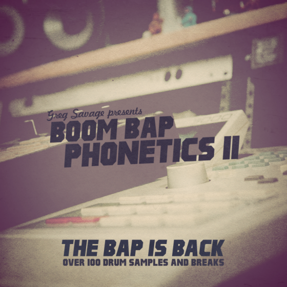 The Drum Sample Broker Boom Bap Phonetics 2 - The Bap Is Back WAV