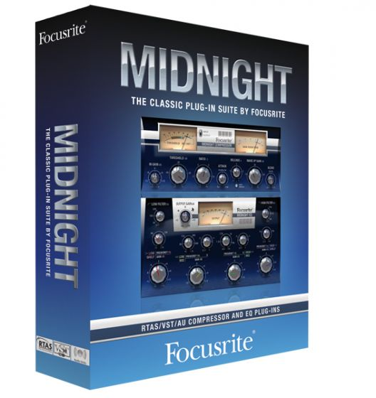 Focusrite Midnight Plug-in Suite v1.5 RTAS VST x86.x64-CHAOS