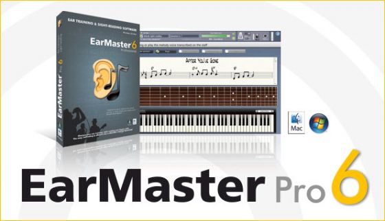 EarMaster Pro 6.1 Build 620PW Portable