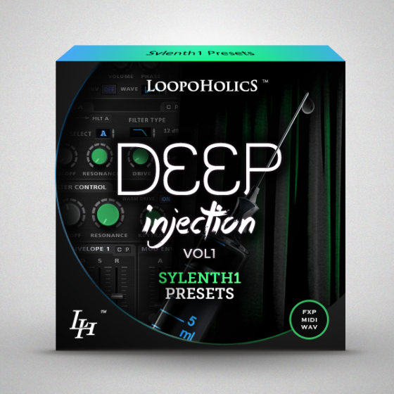 Loopoholics Deep Injection Vol.1 Sylenth1 Presets WAV MiDi AiFF FXB-MAGNETRiXX