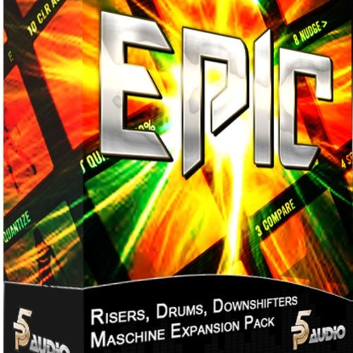 P5Audio Epic Risers Drums and Downshifters Maschine Expansion Pack-MAGNETRiXX