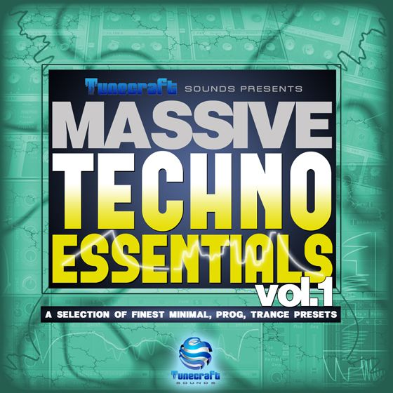 Tunecraft Sounds Tunecraft Techno Essentials Vol.1 WAV Ni Massive-MAGNETRiXX
