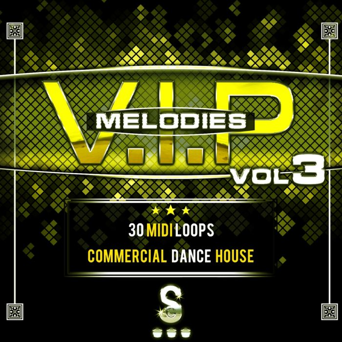 Golden Samples V.I.P Melodies Vol.3 MiDi-MAGNETRiXX