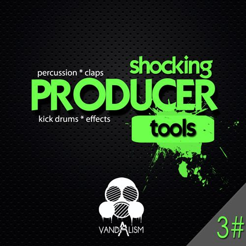 Vandalism Shocking Producer Tools 3 WAV-MAGNETRiXX